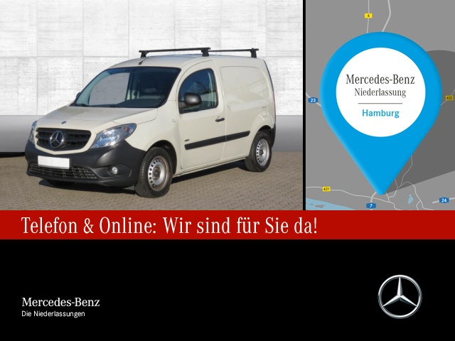 Mercedes-Benz Citan 109 CDI Kasten Lang Parktronic Zusatzhzg., Jahr 2016, Diesel