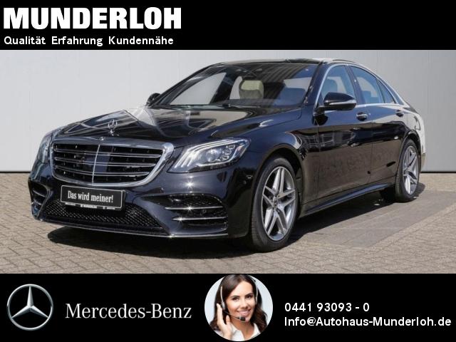 Mercedes-Benz S 450 AMG FOND Entertainment Distronic Nachtsich, Jahr 2019, Benzin