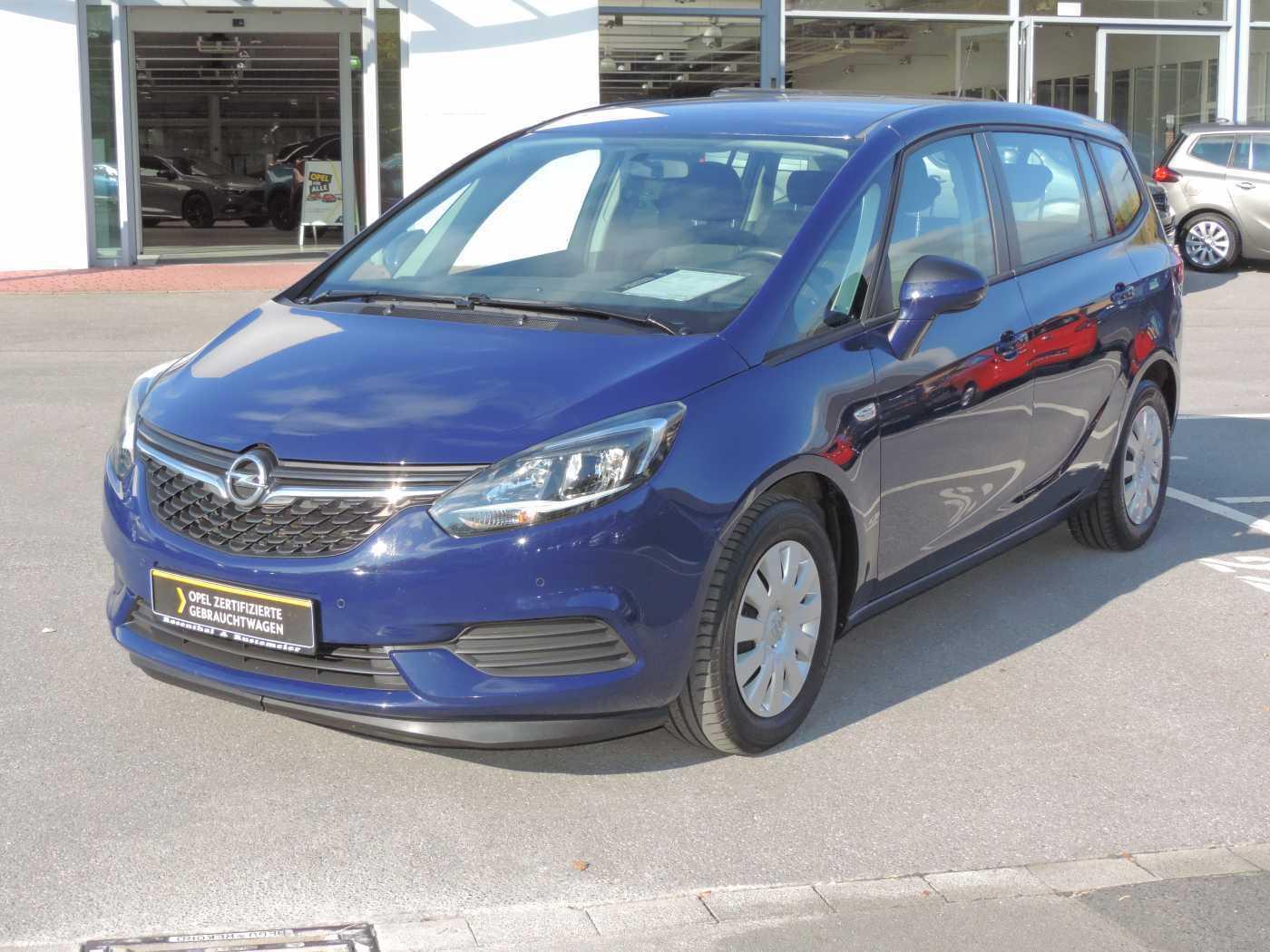 Opel Zafira 1.6 CDTI Selection PARKPILOT BLUETOOTH LED-Tagfahrlicht, Jahr 2017, Diesel