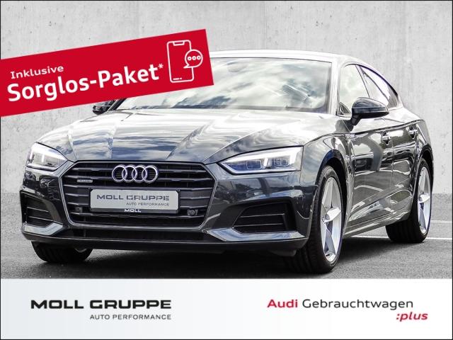 Audi A5 Sportback 40 TDI quattro sport S tronic Alcantara*LED*Navi*, Jahr 2019, Diesel