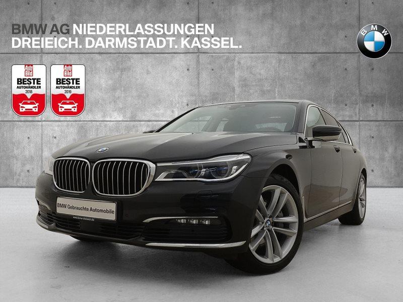 BMW 740d xDrive Limousine Head-Up Fond orientiert, Jahr 2016, Diesel