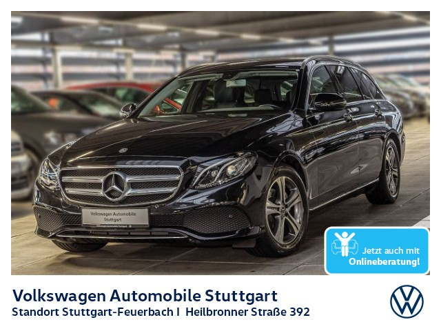 Mercedes-Benz E 200 d T Avantgarde Navi AHK, Jahr 2018, Diesel