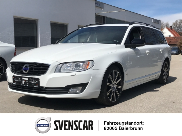 Volvo V70 D5 Linje Svart Leder Navi StandHZG Keyless Dyn. Kurvenlicht e-Sitze ACC, Jahr 2015, Diesel