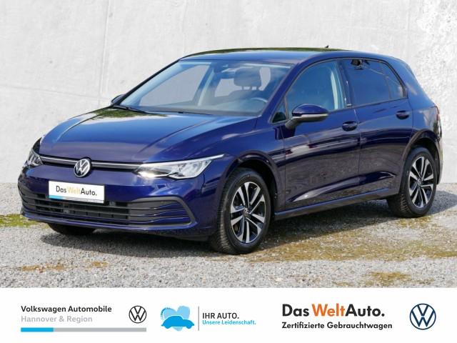 Volkswagen Golf VIII 1.0 TSI United Navi LED Klima ACC Lenkradheiz Ambientebel, Jahr 2020, Benzin