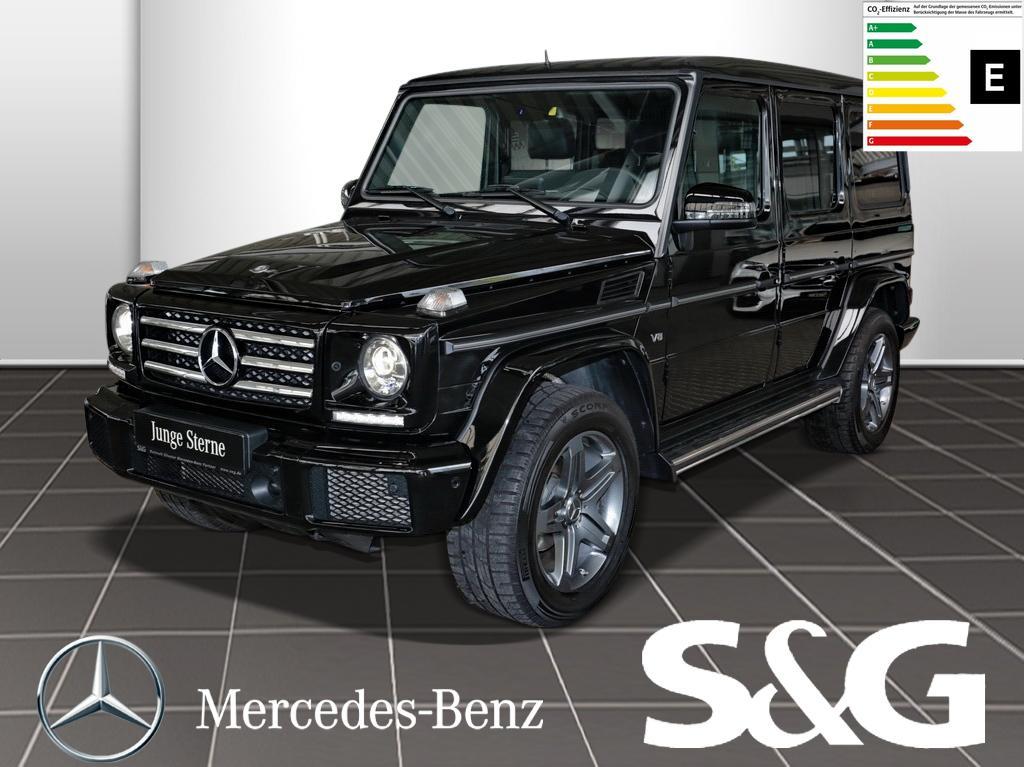 Mercedes-Benz G 500 Navi/Parktronic/Distronic/RüKa/Sitzheizg/, Jahr 2017, Benzin
