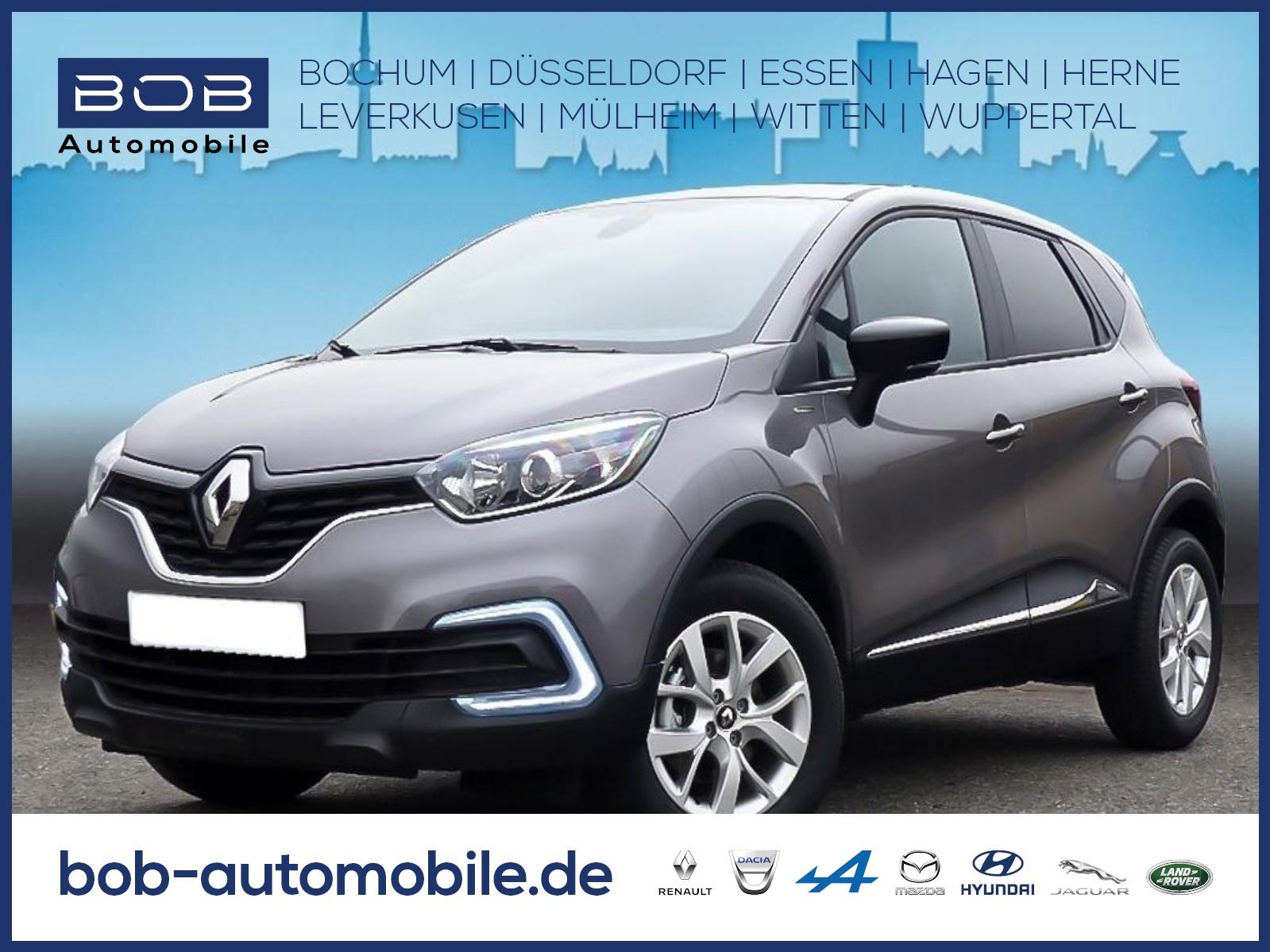 Renault Captur LIMITED DELUXE TCe 130 GPF NAVI PDC KLIMA, Jahr 2019, Benzin