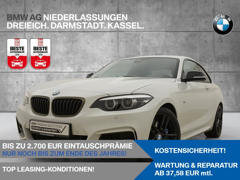 BMW M240i Coupé HiFi RTTI Navi Prof., Jahr 2019, Benzin