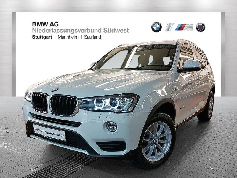 BMW X3 xDrive20d Advantage HiFi Xenon Standhzg. AHK, Jahr 2017, Diesel