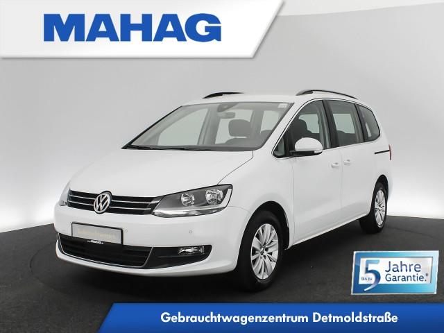 Volkswagen Sharan COMFORTLINE 2.0 TDI 7-Sitzer Navi SportSitze DAB+BlindSpot LaneAssist 16Zoll DSG, Jahr 2020, Diesel