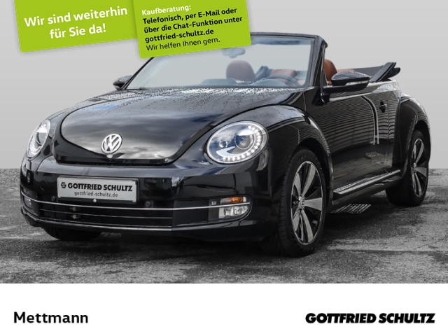 Volkswagen New Beetle Cabriolet 1,2 TSI CUP, Jahr 2014, Benzin