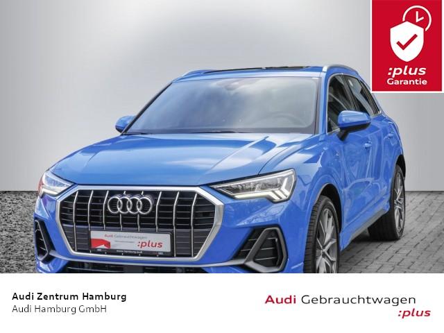 """Audi Q3 S LINE 35 TFSI S tronic ALU 20"""" PANO MATRIX-LED NAVI-PLUS, Jahr 2020, petrol"""