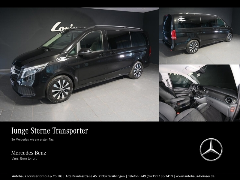 Mercedes-Benz V 300 d L Edition MBUX/AHK/LED/NAVI/EASY-PACK, Jahr 2020, Diesel