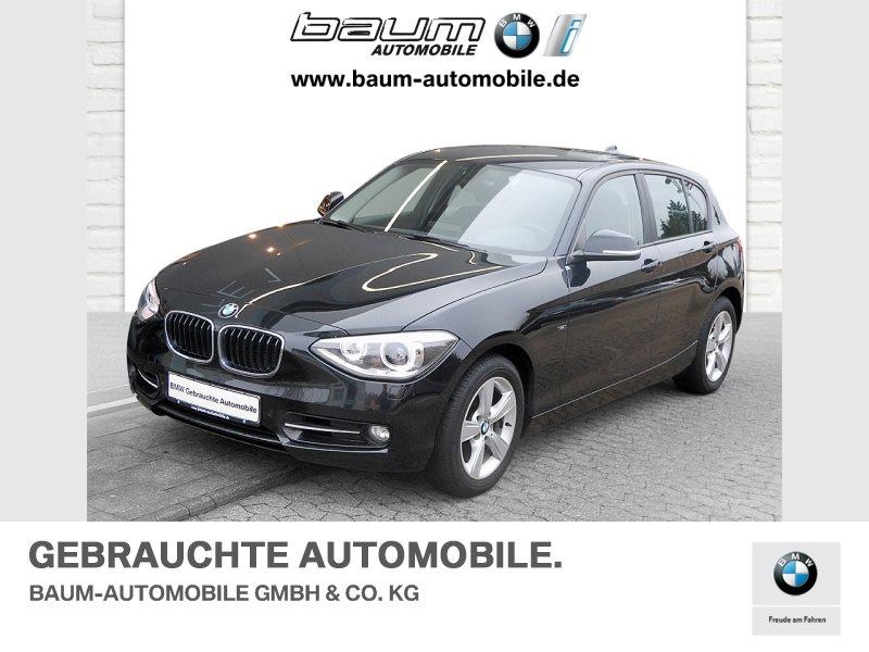 BMW 120d xDrive 5-Türer Sport Line Xenon USB Shz, Jahr 2013, Diesel