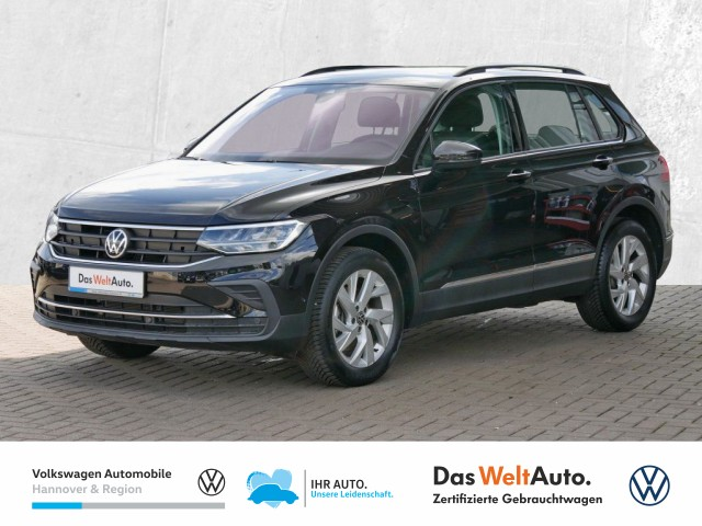 Volkswagen Tiguan 1.5 TSI Life Navi LED Klima el. Heckkl. Rear View, Jahr 2020, Benzin