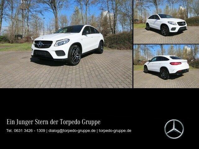 "Mercedes-Benz GLE 43 AMG 4M COUPÉ FAHRPROGRAMM ""SPORT+"" NAVI+C, Jahr 2016, Benzin"