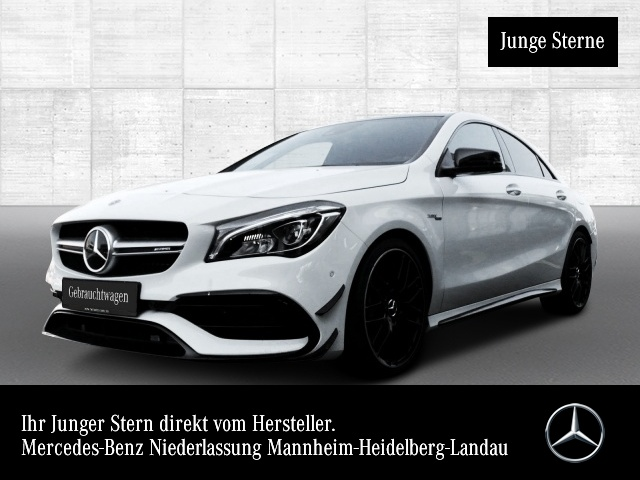 Mercedes-Benz CLA 45 4MATIC Coupé Sportpaket Bluetooth Navi LED, Jahr 2018, Benzin