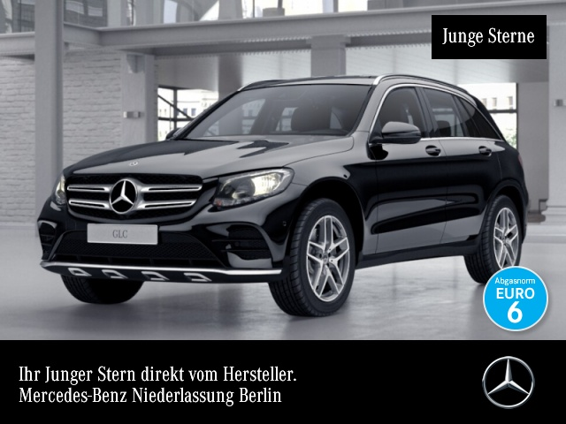 Mercedes-Benz GLC 350 d 4M AMG Stdhzg AHK Navi PTS 9G Sitzh Temp, Jahr 2017, diesel