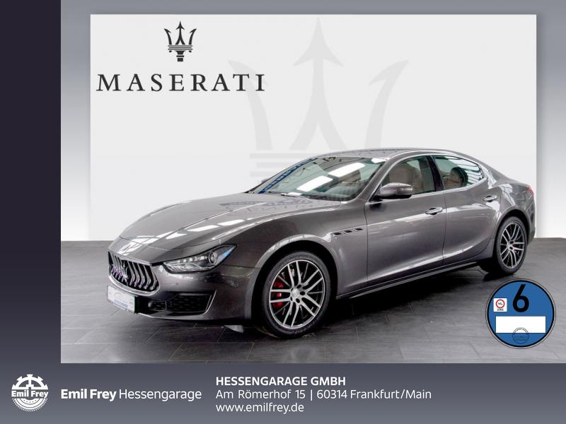 Maserati Ghibli Aut Totwinkel Softclose DAB 19'' Kamera, Jahr 2018, Diesel