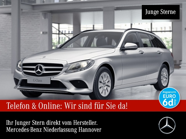 Mercedes-Benz C 220 d T AHK PTS 9G Sitzh Sitzkomfort Temp, Jahr 2019, Diesel