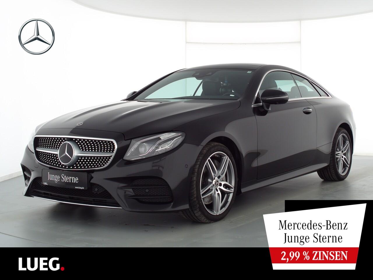 Mercedes-Benz E 450 4M Coupé AMG+COM+Pano+Mbeam+19''+DistrP+36, Jahr 2019, Benzin