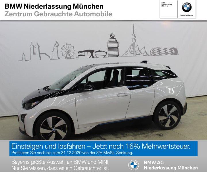 BMW i3 REX RFK Navi Prof. RTTI Internet Tempomat, Jahr 2016, Hybrid