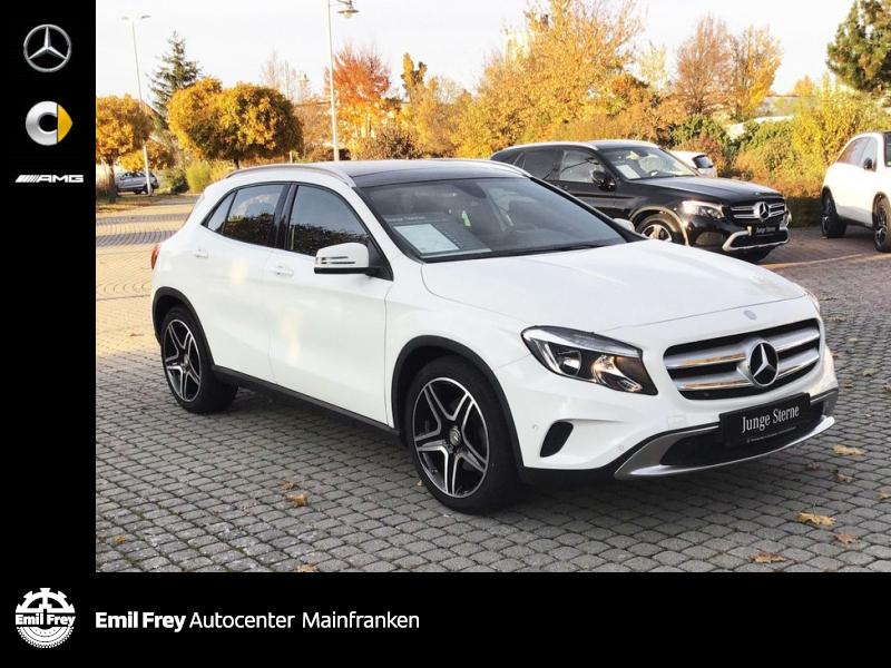 Mercedes-Benz GLA 250 Urban+AMG 19''+Navi+PANO+2-ZonenKlima, Jahr 2016, Benzin