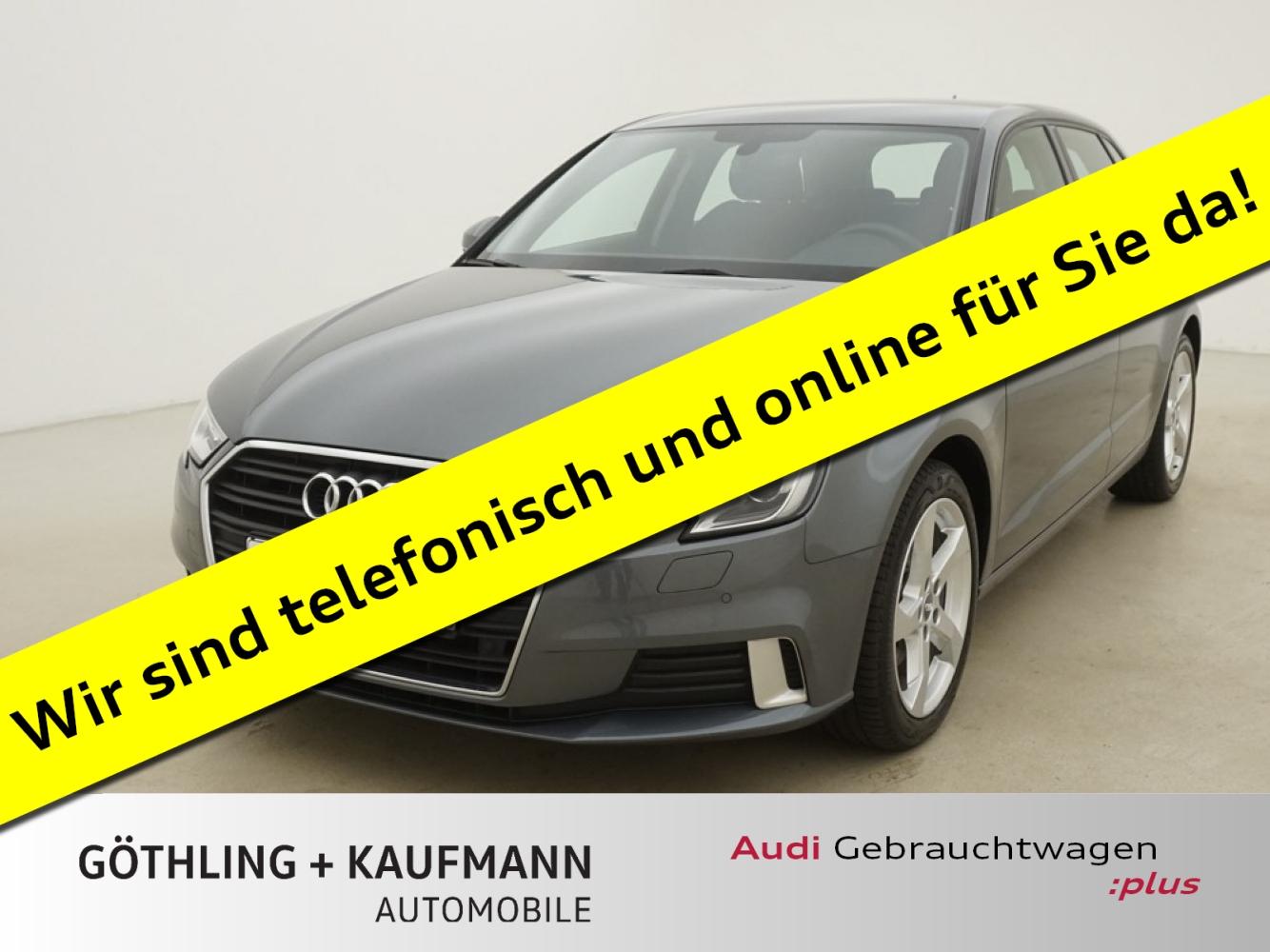 Audi A3 Sportback 1.6 TDI 85kW*Navi*Xenon+*PDC+*SHZ*M, Jahr 2017, Diesel