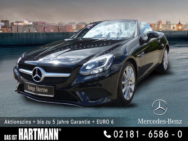 Mercedes-Benz SLC 200 NAVI+PANORAMA-DACH+AIRSCARF+SITZHEIZUNG, Jahr 2016, Benzin