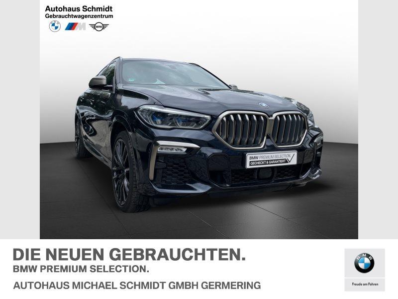 BMW X6 M50i Fahrwerk Prof*Massage*Fond Entertainement*NP 137 t€, Jahr 2019, Benzin