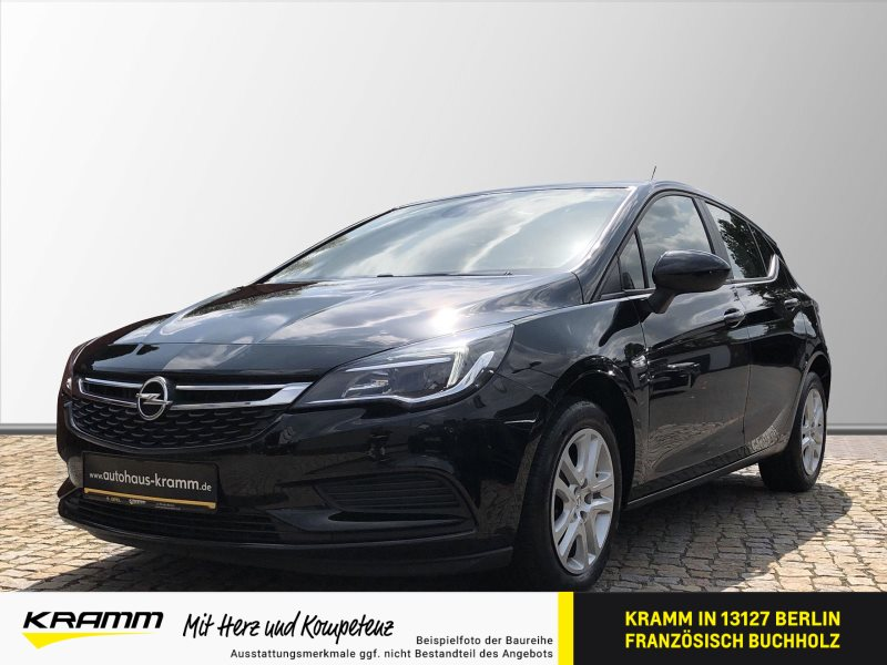 Opel Astra 5T EDITION 1.4 Shz. Tempomat Klimaaut. BT, Jahr 2018, Benzin