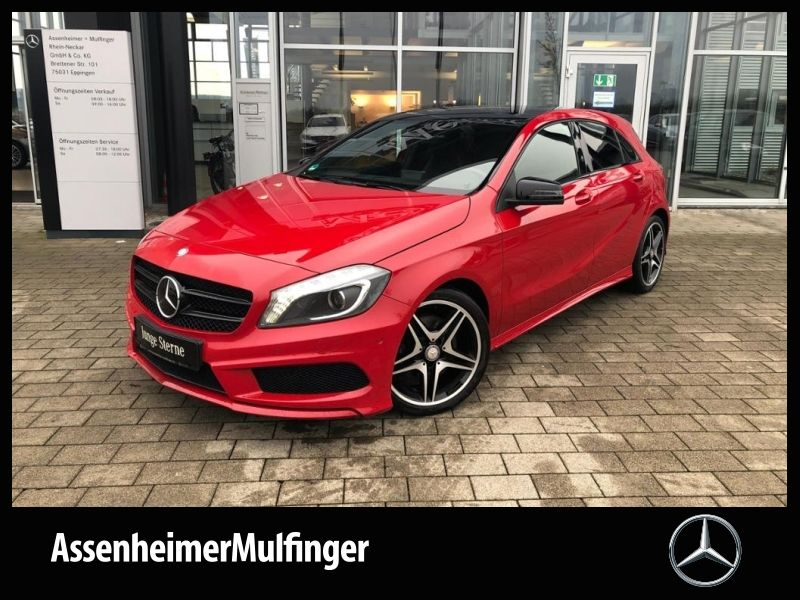Mercedes-Benz A 250 BE AMG **Navi/Pano/Kamera/Xenon/Night, Jahr 2012, petrol