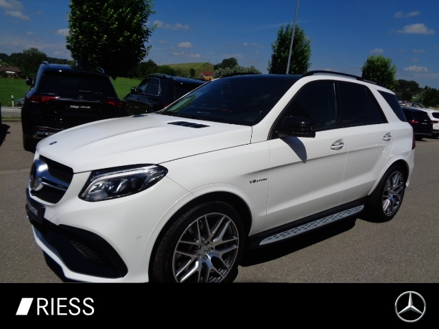 Mercedes-Benz GLE 63 S AMG 4M Drivers-P+Fahrass.P+Comand+Night, Jahr 2018, Benzin