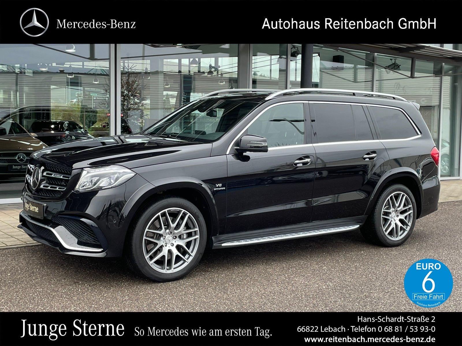 Mercedes-Benz GLS63 4M AMG+DRIVERS+AHK+ILS +B&O+DISTR+SHD+360°, Jahr 2016, Benzin