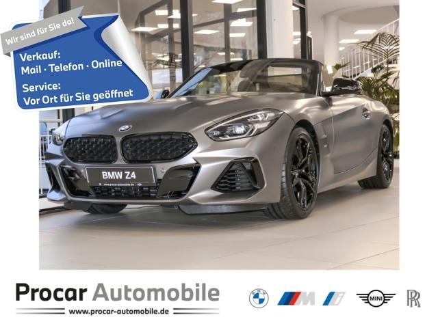 BMW Z4 M40i Cabrio 19'' LED Alarm TmWC H/K akt.Tempo, Jahr 2021, Benzin