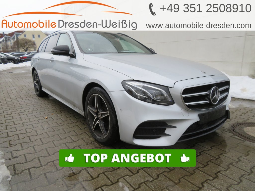Mercedes-Benz E 300 d T 2x AMG*Navi*Widescreen*Pano*Distronic*, Jahr 2019, Diesel