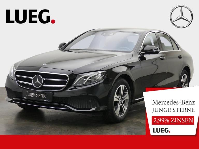 Mercedes-Benz E 200 d Avantgarde+Navi+LED+Sthzg+Distr+Wide+RFK, Jahr 2019, Diesel