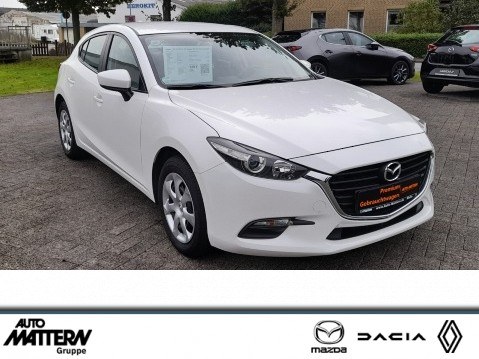 Mazda 3 Prime-Line-1 Hand-AUX-USB-Klima-Bremsassist, Jahr 2017, Benzin