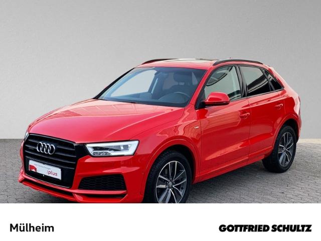Audi Q3 2.0 TFSI quattro S-tronic KAMERA PANO DAB NAVI NAVI OPTIK-BLACK, Jahr 2018, Benzin