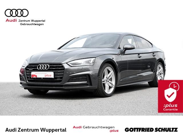 Audi A5 Spb 2.0TFSI QUAT 2X S-LINE MATRIX AHK LEDER CONNECT NAV SHZ GRA PDC VO HI Sport, Jahr 2018, Benzin