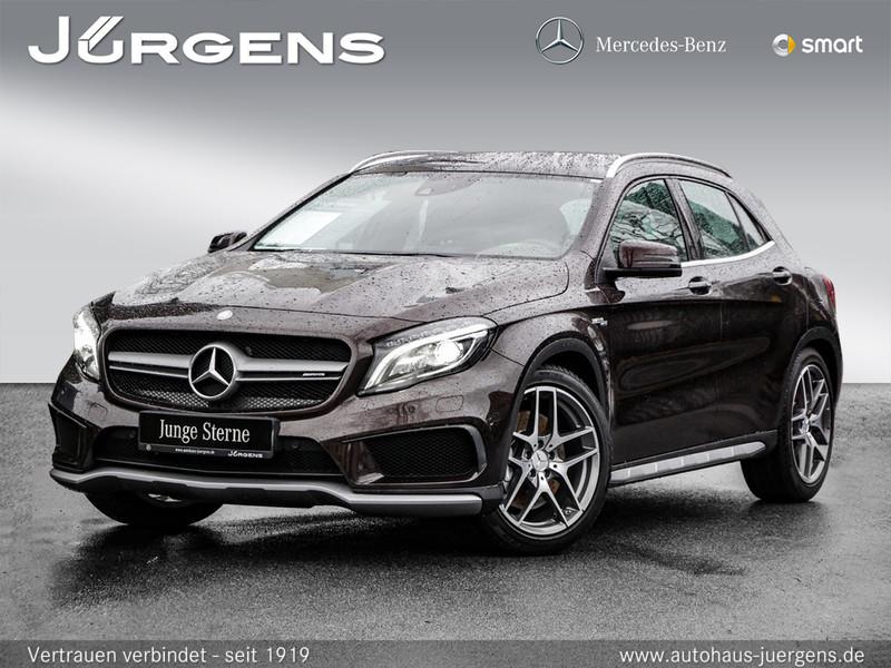 Mercedes-Benz GLA 45 AMG 4M Comand/ILS/Pano/Memo/Exklusiv/20', Jahr 2014, Benzin