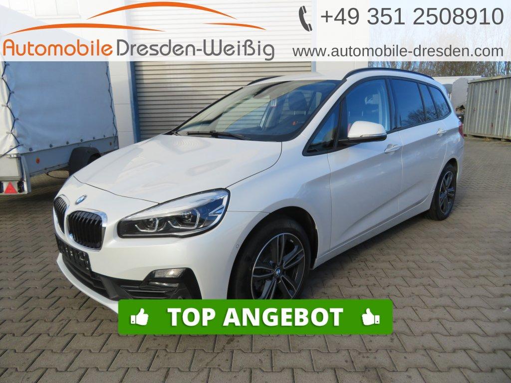 BMW 216 Gran Tourer i Sport Line*Navi*voll LED*AHK*, Jahr 2019, Benzin