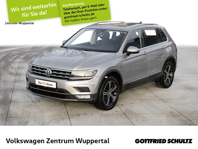 Volkswagen Tiguan 2,0 TSI Highline 4M PANO LED APP CONNECT SHZ PDC LM, Jahr 2017, Benzin