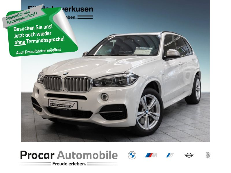 BMW X5 M50d M Sportpaket Night Vision Head-Up DAB, Jahr 2018, Diesel