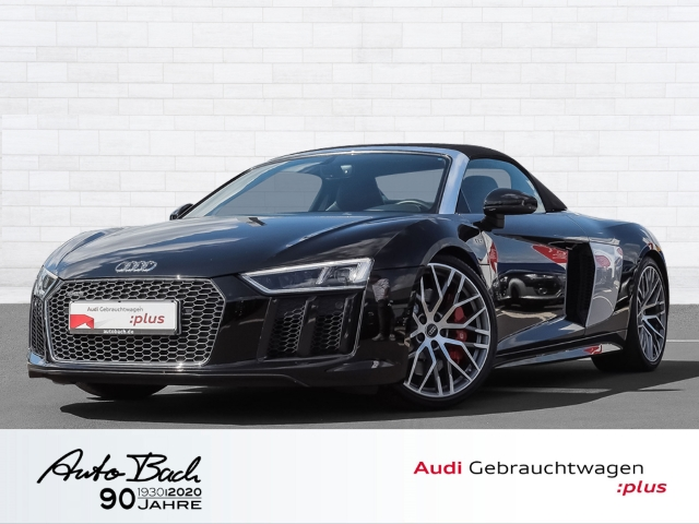 Audi R8 Spyder 5.2FSI qu. Stronic Navi LED B&O GRA EPH virtual, Jahr 2017, Benzin