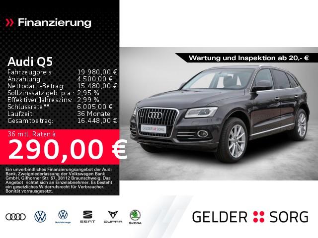 Audi Q5 qu. XenonPlus Pano Standhzg SHZ AHK PDC Klima, Jahr 2014, Diesel