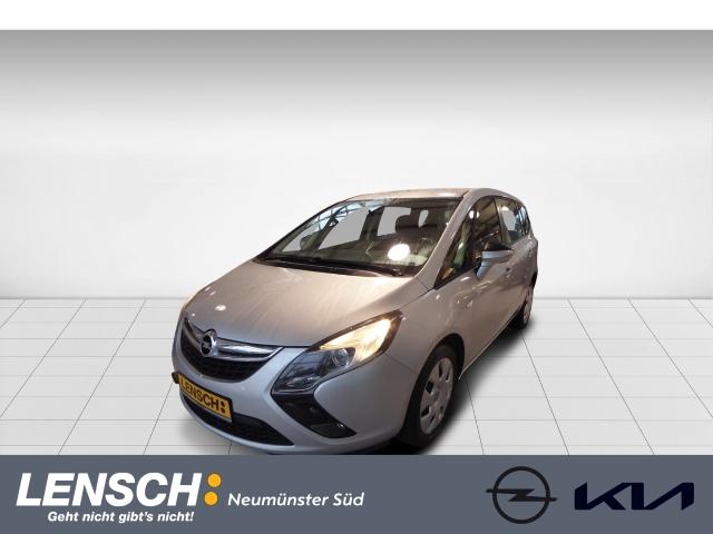 Opel Zafira Tourer C 1.6 C CNG Selection NAVI + Tempomat + Allwetter +, Jahr 2015, Benzin