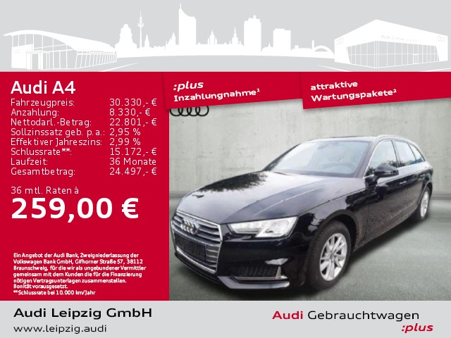 Audi A4 Avant 35 TDI sport S-tronic *Xenon*Navi*, Jahr 2019, Diesel