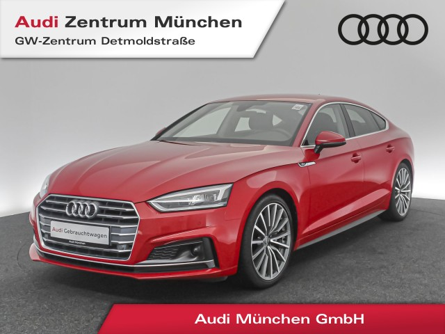 "Audi A5 Sportback 2.0 TDI S line LED B&O Navi Assistenz 19"" PhoneBox PDCplus S tronic, Jahr 2018, diesel"