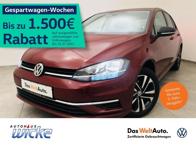 Volkswagen Golf VII 1.0 TSI IQ.DRIVE Klima Navi ACC, Jahr 2019, Benzin