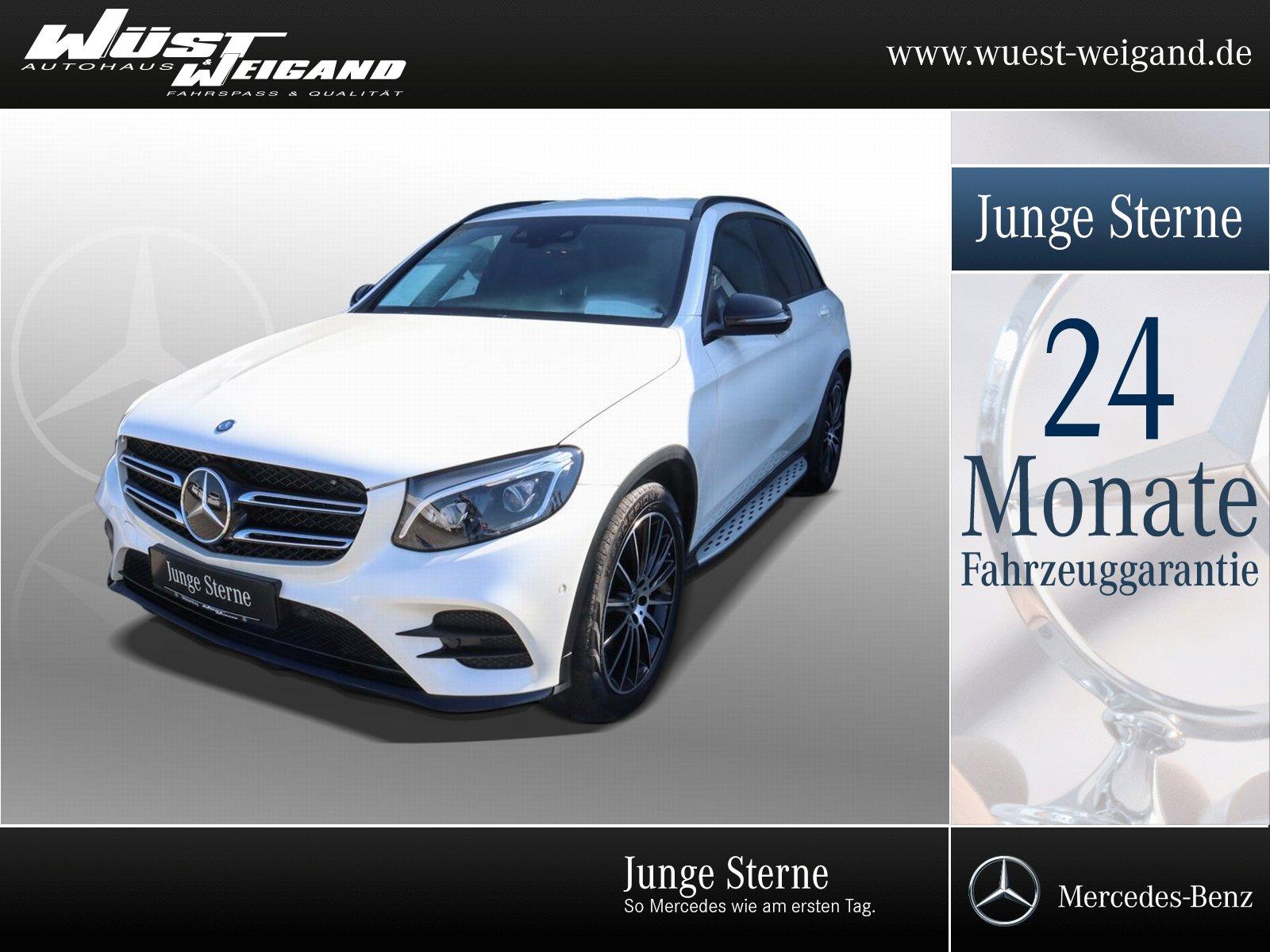 Mercedes-Benz GLC 350 d 4MATIC AMG-Line+AHK+Distronic+Kamera, Jahr 2017, Diesel
